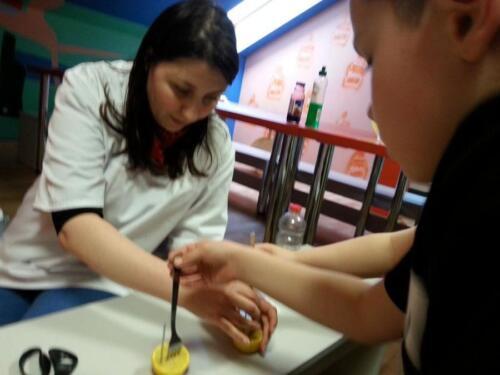 Gorlice - Warsztaty chemiczno - fizyczne